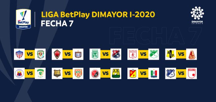 Datos Previos A La Fecha 7 En La Liga Betplay Dimayor I 2020 Dimayor