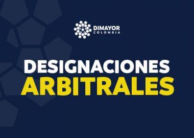 Designaciones arbitralesCopa BetPlay y SuperLiga BetPlay