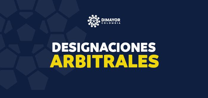 Designaciones arbitrales Liga BetPlay y Torneo BetPlay