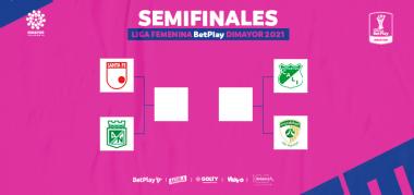 Semifinales Liga Femenina BetPlay 2021