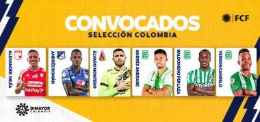 Convocados del FPC a Selección Colombia