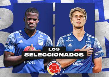 Andrés Román y Andrés Llinás, Selección Colombia