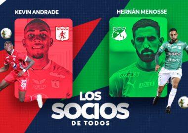 Socios de todos,Menosse y Andrade