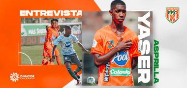 Entrevista Yaser Asprilla, extremo derecho Envigado FC