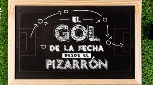 Gol pizarrón Fecha 7