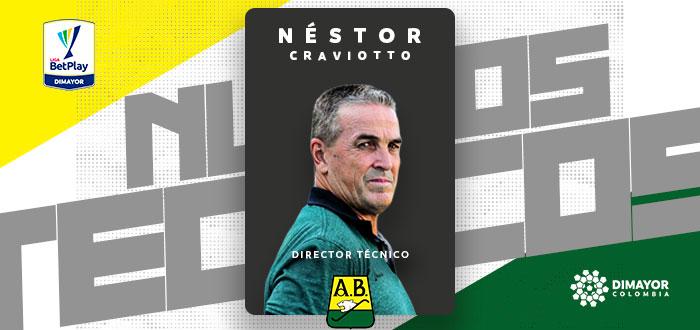 Néstor Craviotto, nuevo DT de Bucaramanga