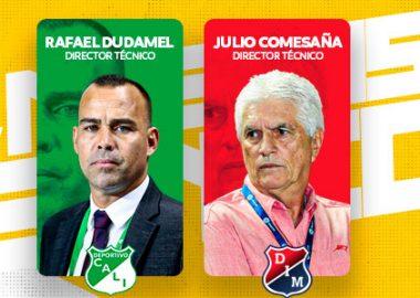 Nuevos DT, fútbol profesional colombiano