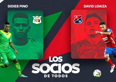 Didier Pino y David Loaiza
