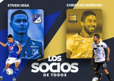 Stiven Vega y Christian Marrugo