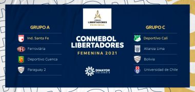 Grupos de la Conmebol Libertadores Femenina 2021