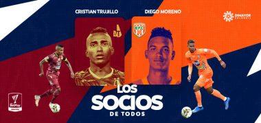 Diego Moreno y Cristian Trujillo, los socios de todos