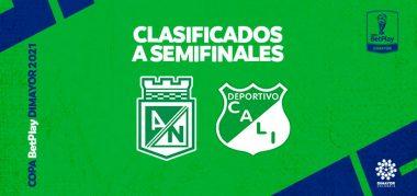 Semifinales Copa BetPlay DIMAYOR