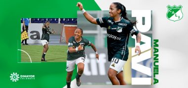 Manuela Pavi, jugadora Deportivo Cali
