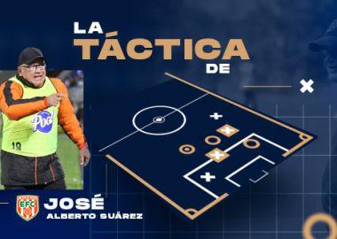 La táctica de José Alberto Suárez