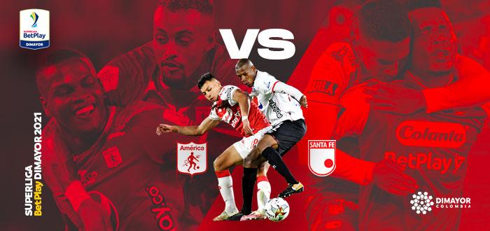 Superliga BetPlay América vs Santa Fe