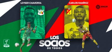 Leyser Chaverra y Carlos Ramírez