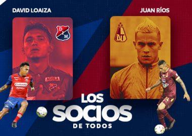 David Loaiza y Juan Ríos, los socios de todos