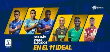 Seis jugadores del 11 ideal