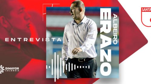 Albeiro Erazo, Independiente Santa Fe Femenino