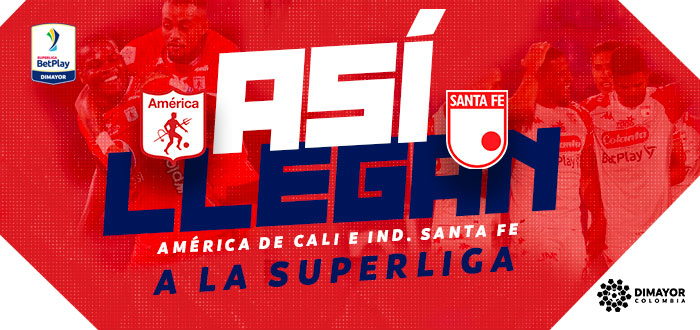 América de Cali vs Indpendiente Santa Fe Superliga