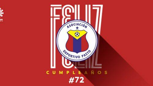 72 años Deportivo Pasto