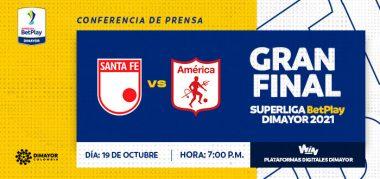 Superliga Santa Fe vs América de Cali