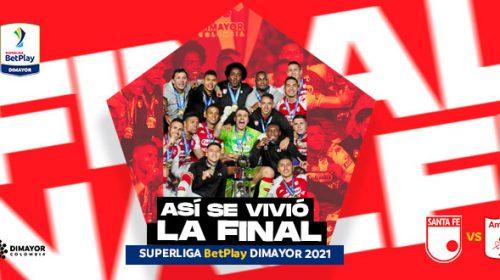 Campeón SuperLiga BetPlay DIMAYOR 2021